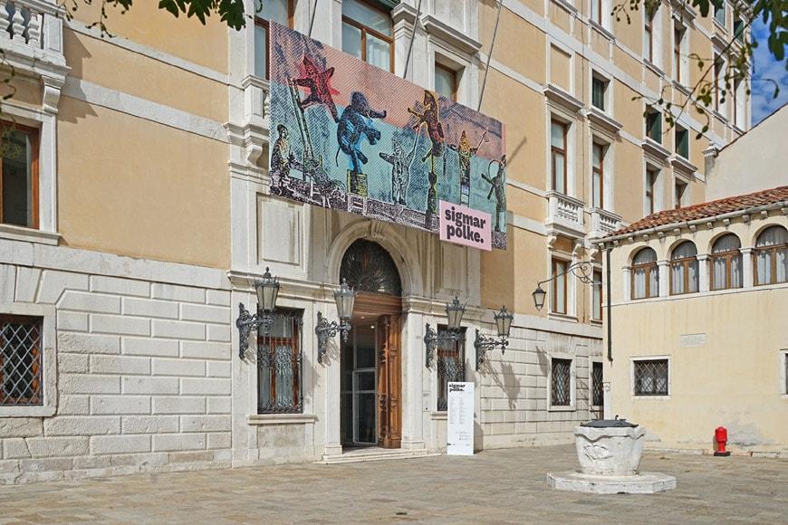 Palazzo Grassi Venice entrance