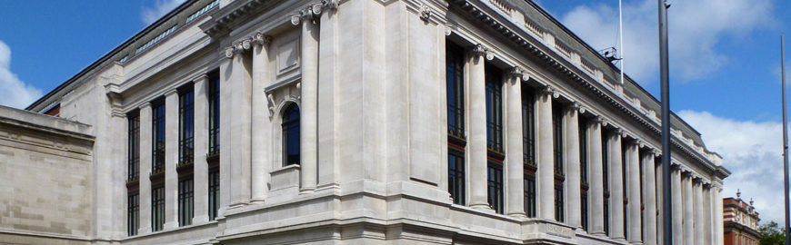 Science Museum London exterior facade 3