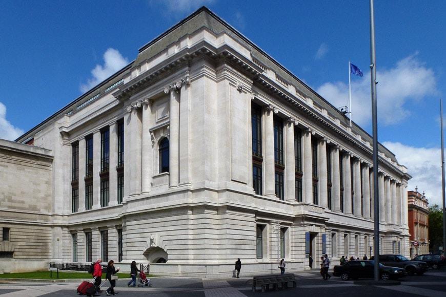 Science Museum London exterior facade 3