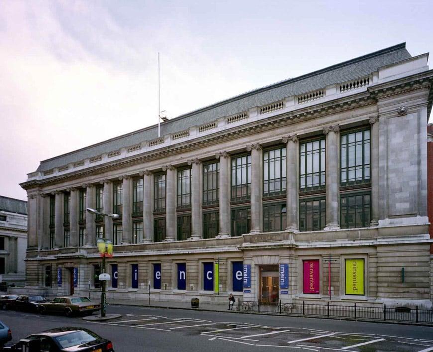 Science Museum London exterior facade 5