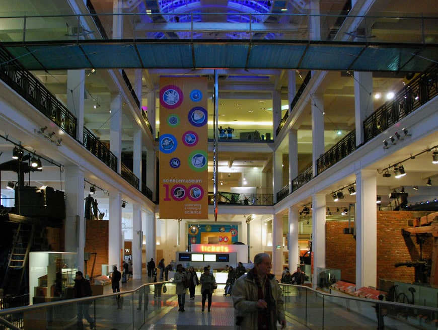 Science Museum London interior 2