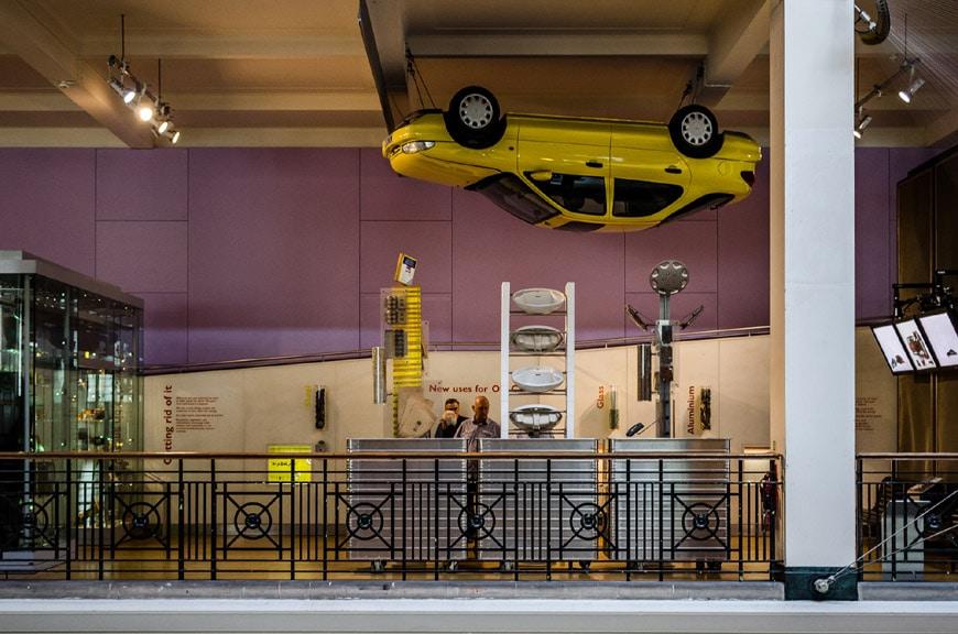 Science Museum London interior 3
