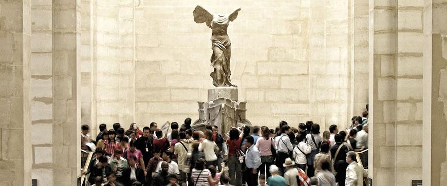 The Louvre Nike Samothrace