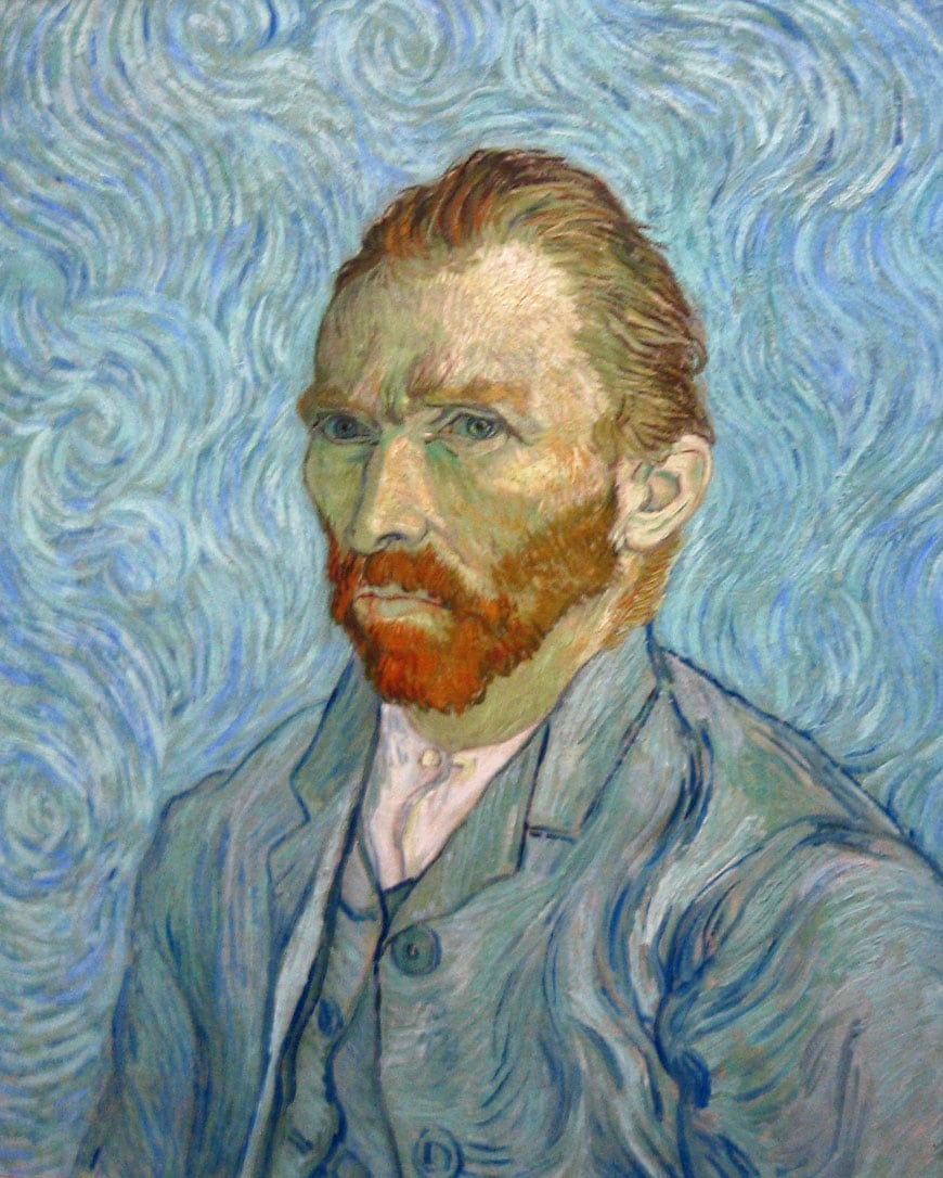 Vincent van Gogh Self portrait Musée d'Orsay Paris