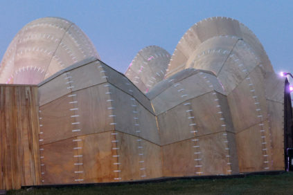 The Velvet State Pavilion in Roskilde