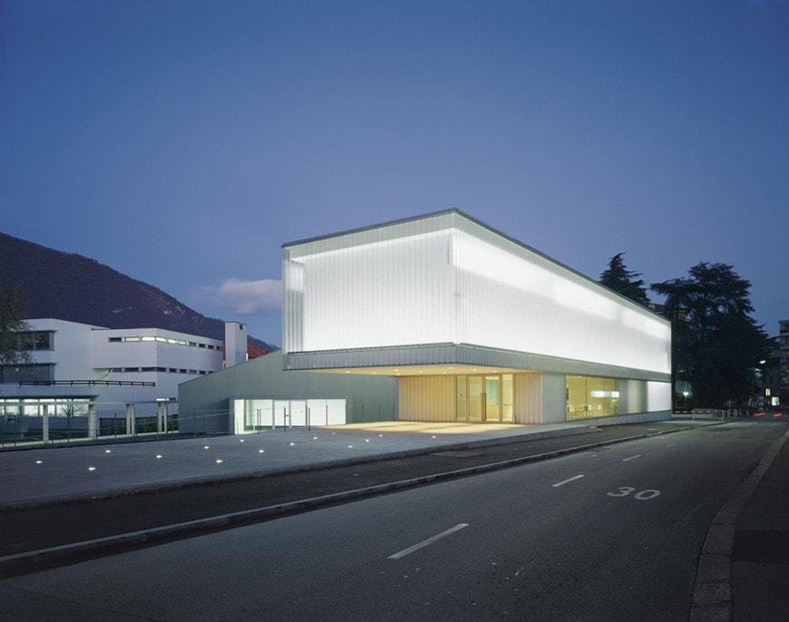 M A X Museo Chiasso Switzerland Durisch Nolli