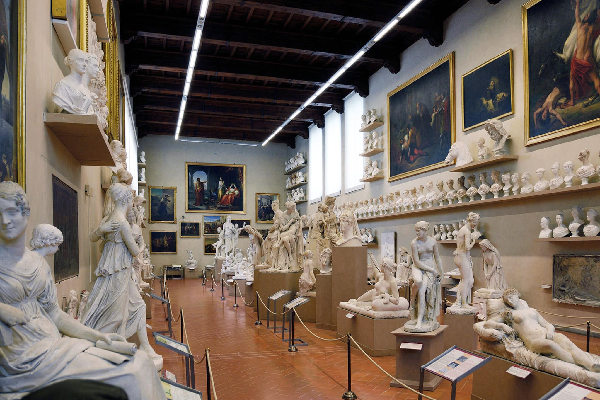 Accademia Gallery Florence sculptures
