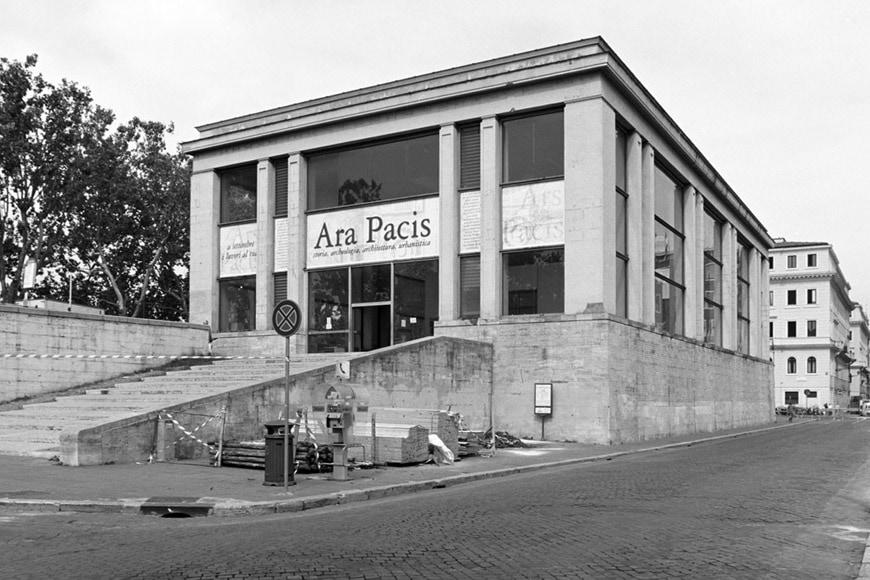 Ara Pacis Morpurgo pavilion Rome