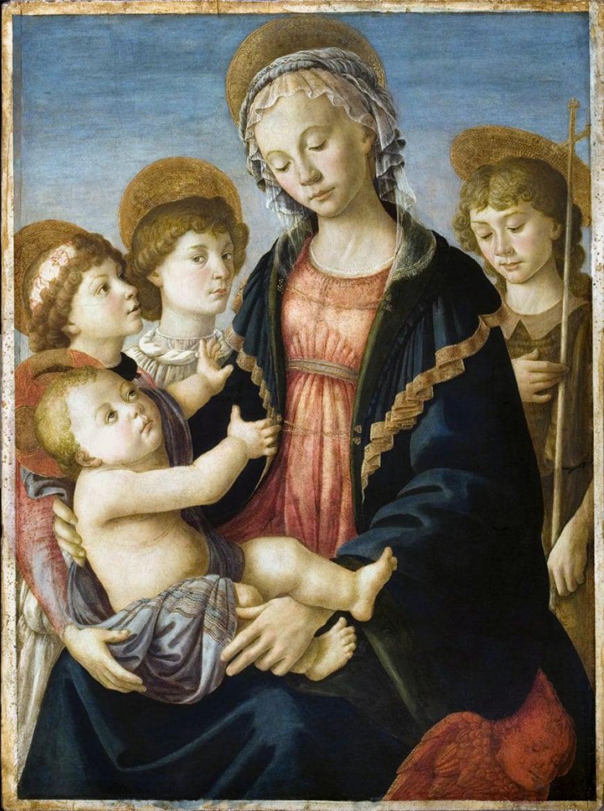Botticelli Madonna Galleria Accademia Firenze