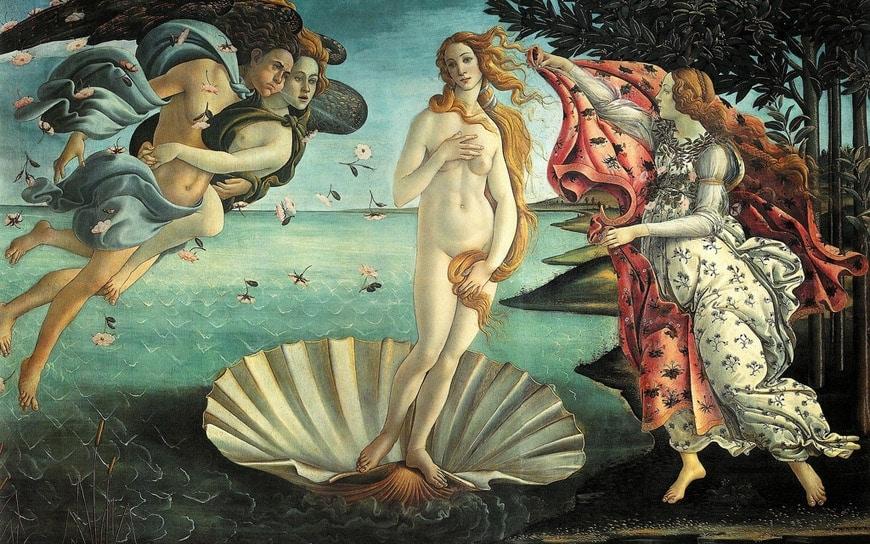 Botticelli Uffizi Gallery Florence Galleria Uffizi Firenze