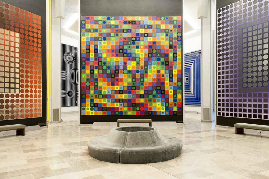 Fondation Vasarely Aix-en-Provence 5