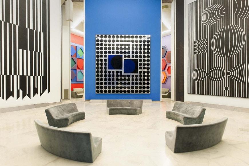 Fondation Vasarely Aix-en-Provence 7