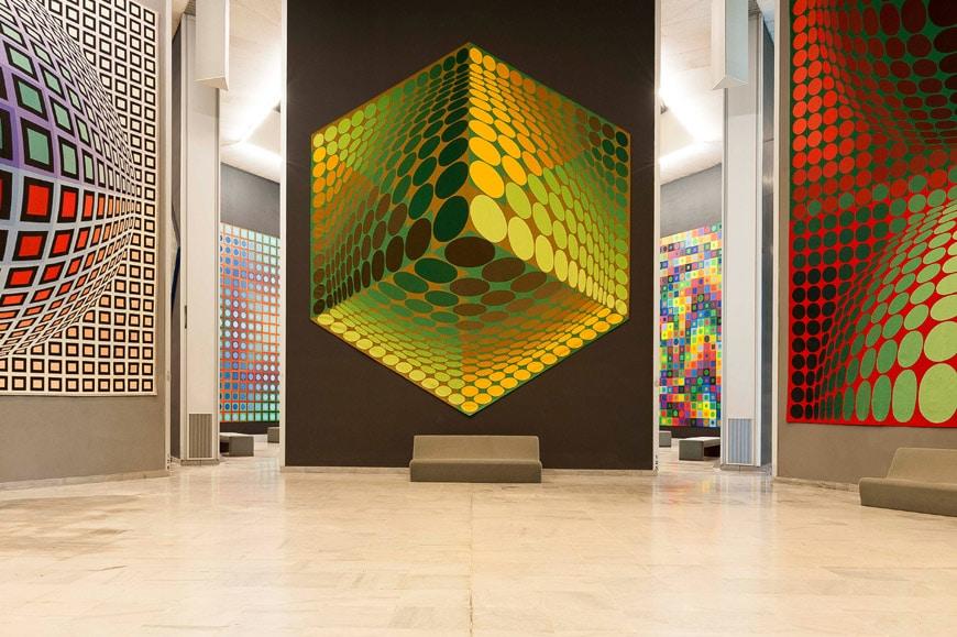 Fondation Vasarely Aix-en-Provence 9