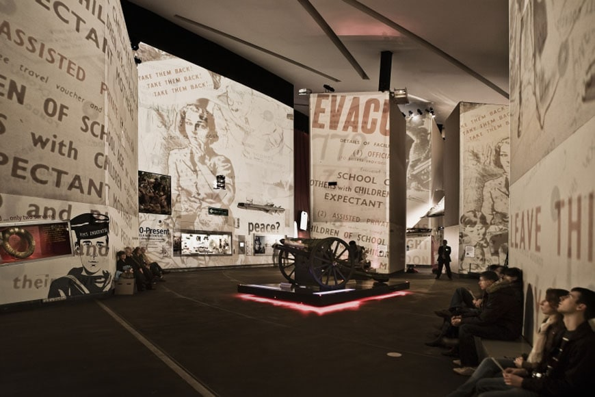 IWM Imperial War Museum North Manchester permanent exhibition 04
