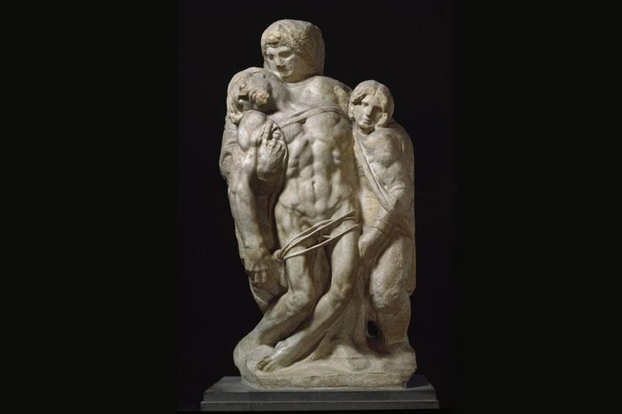 Michelangelo Palestrina Pietà Galleria Accademia Firenze