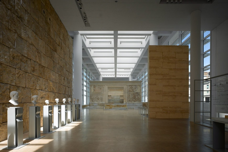 Museum Of The Ara Pacis Rome