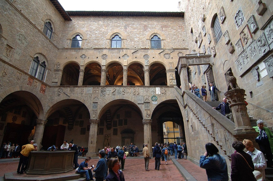 National Museum Of Bargello Florence Museo Nazionale Del Bargello