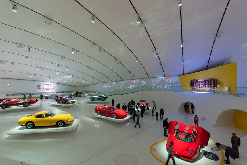 The Enzo Ferrari Museum In Modena By Future System