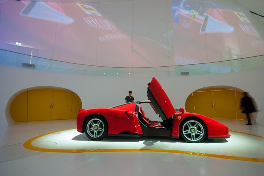 Ferrari Enzo 2012 Museo Ferrari Modena