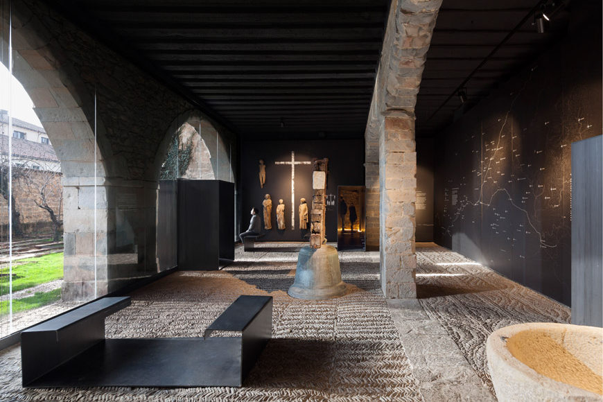 Occidens museum Pamplona Cathedral Vaillo Irigaray architects 2
