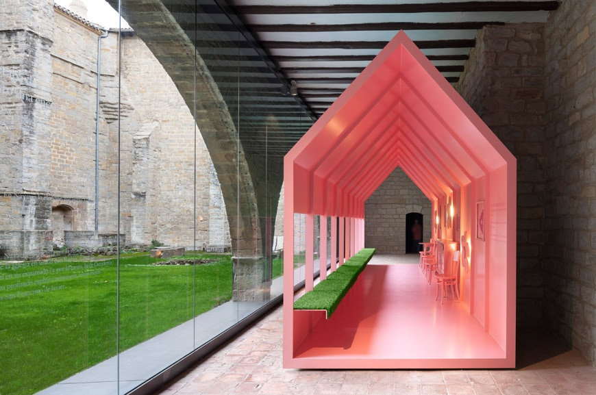 Occidens museum Pamplona Cathedral Vaillo Irigaray architects 4