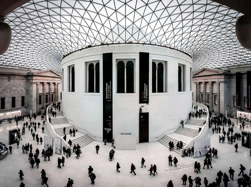 British Museum London Great Court