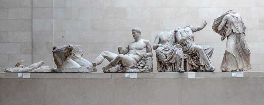 British Museum London Parthenon pediment sculptures