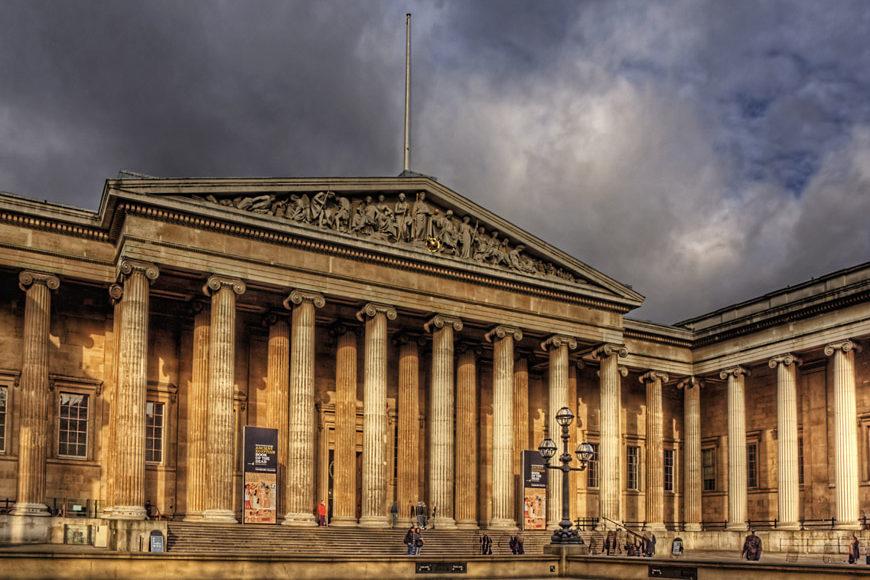 British Museum Londra facciata principale