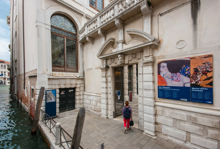 ca pesaro venice international gallery of modern