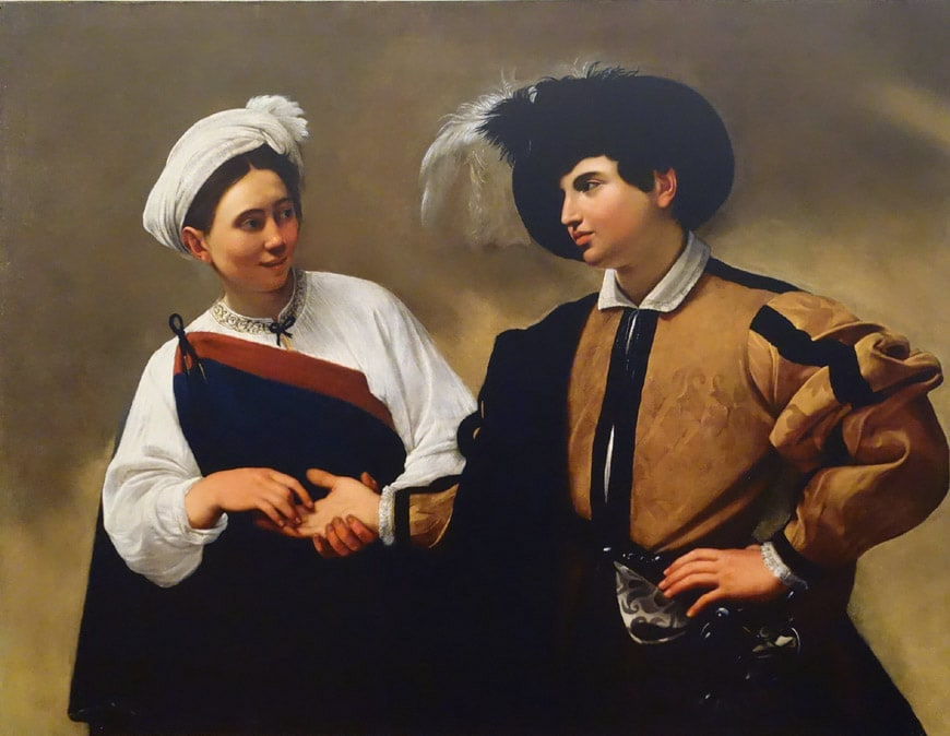 Caravaggio Good Luck the Fortune Teller Capitoline Museums Rome 2