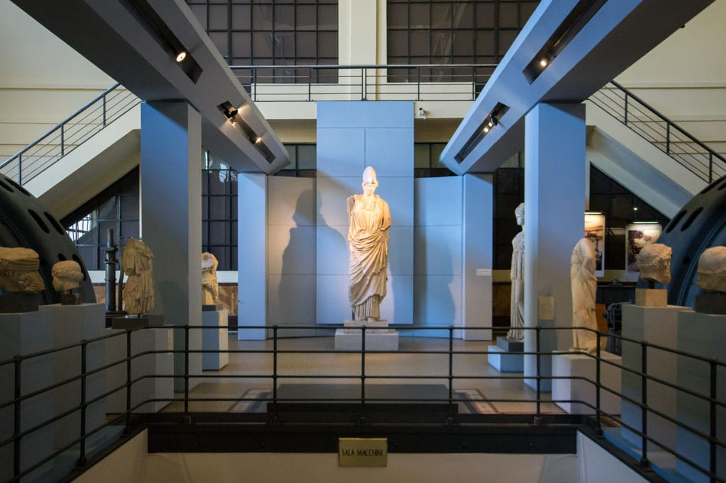 Centrale Montemartini Archaeological Museum Rome Inexhibit 03