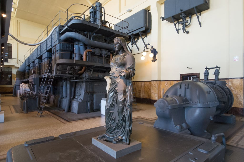 Centrale Montemartini Industrial Archaeology Museum Rome Inexhibit 06