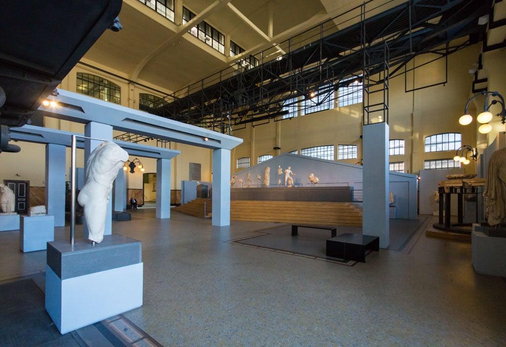 Centrale Montemartini Roman sculture museum Rome 10
