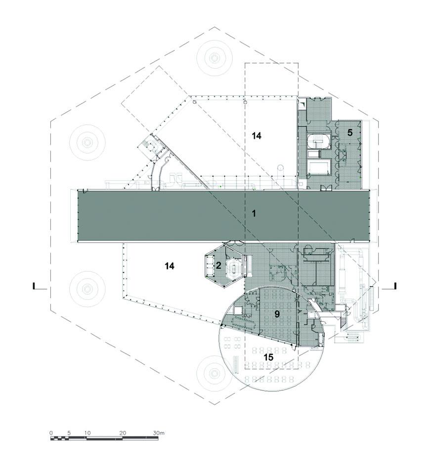 Centre Pompidou Metz Shigeru Ban plan