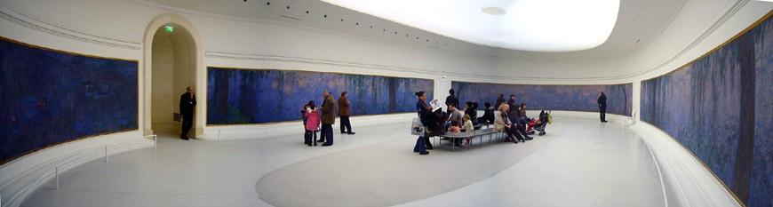 Claude Monet Water Lilies Musée de l'Orangerie Paris 1