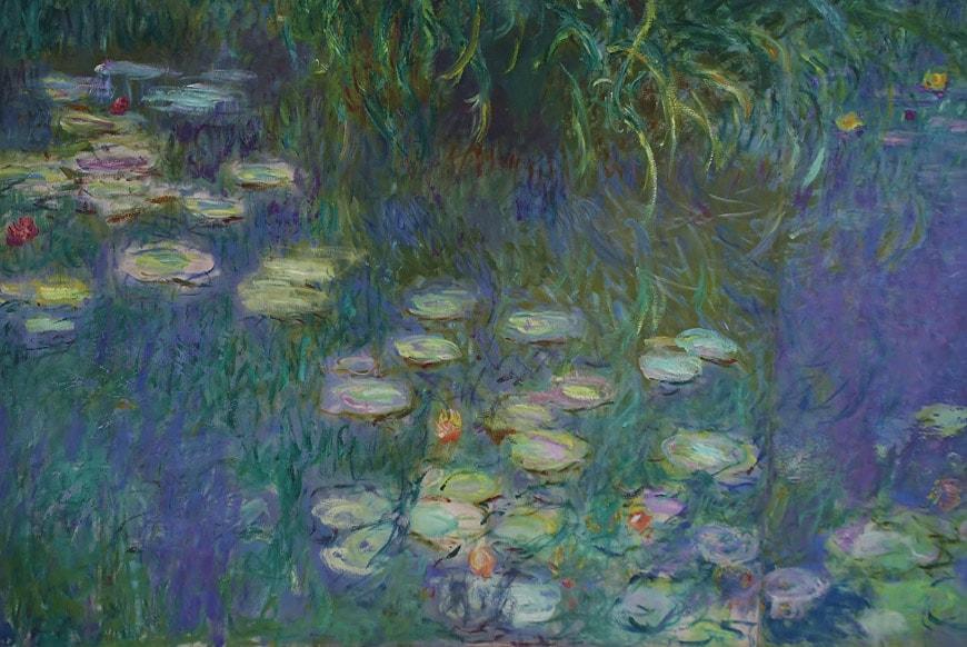 Claude Monet Water Lilies Musée de l'Orangerie Paris 2