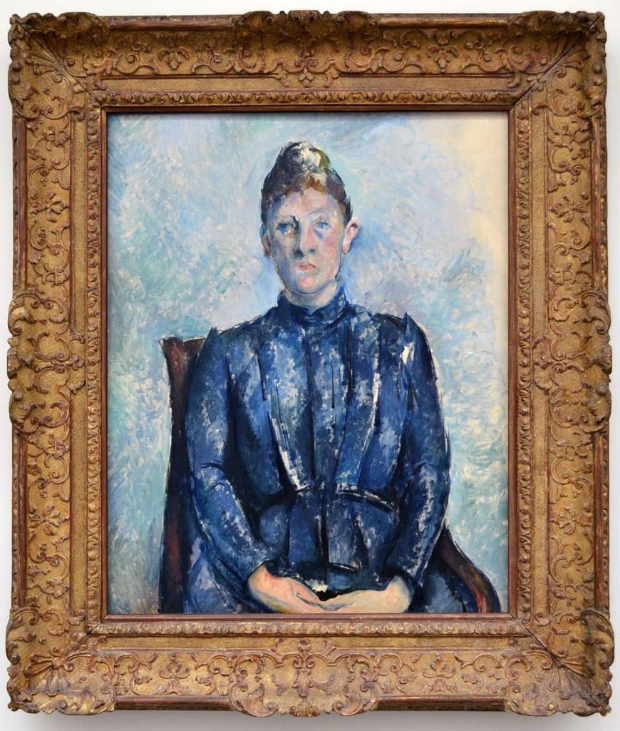 Musée de l'Orangerie Paris Cézanne portrait