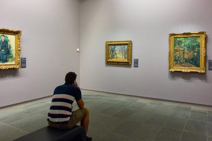 Musée de l'Orangerie Paris Cézanne