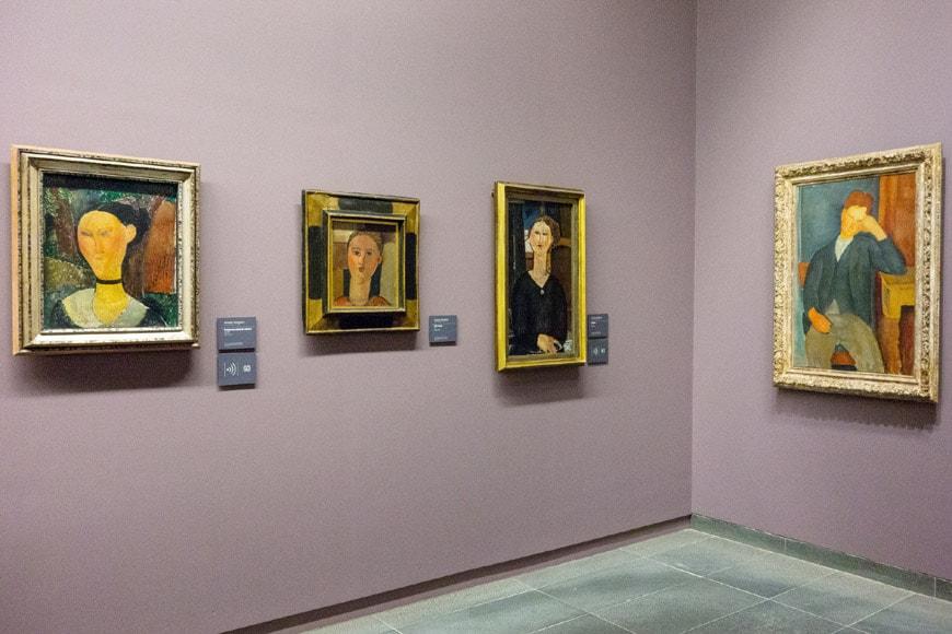 Musée de l'Orangerie Paris Modigliani