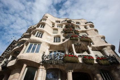 Pedrera House Gaudi Barcelona Inexhibit 01