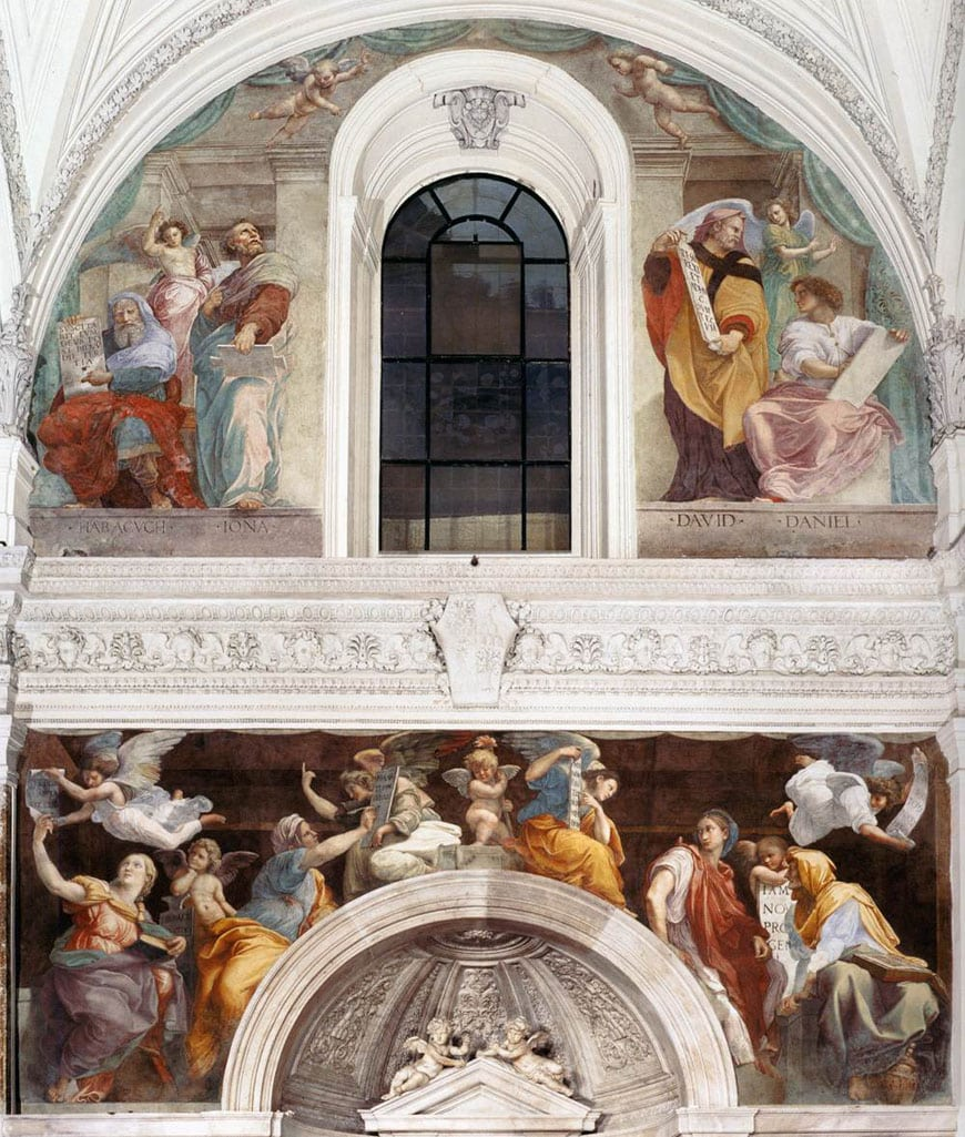 sibyls-and-prophets-fresco-raphael-rome