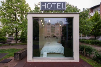 smallest hotel in the world hannes egger