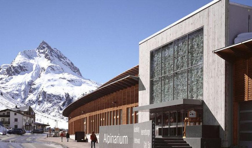 Alpinarium museo Galtur vista esterna