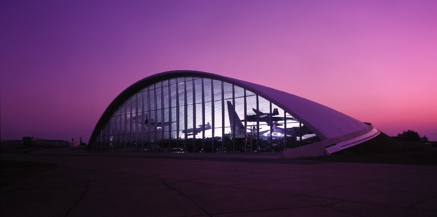 American air Museum Duxford, Foster + Partners 1
