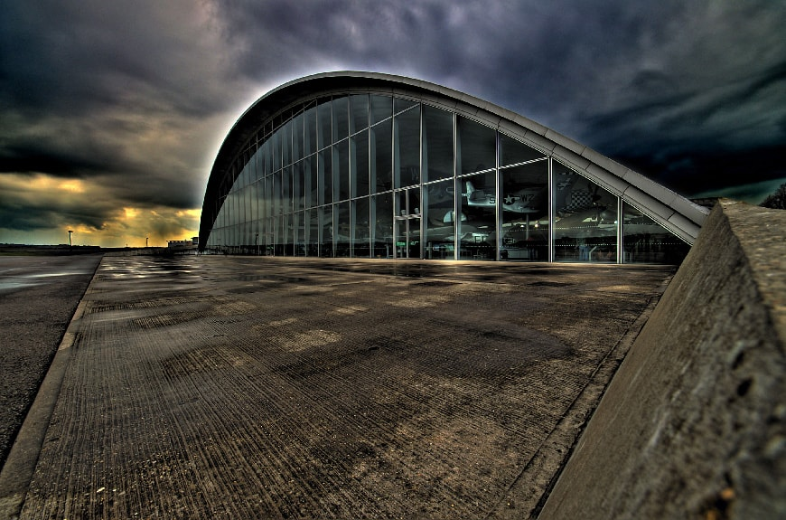 American air Museum Duxford, Foster + Partners 2