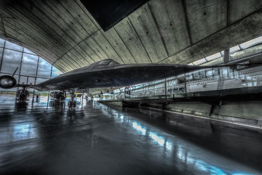 American air Museum Duxford, Lockheed SR-71 Blackbird
