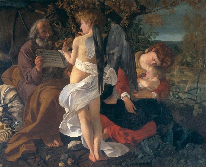 Caravaggio Doria Pamphilj Gallery Rome