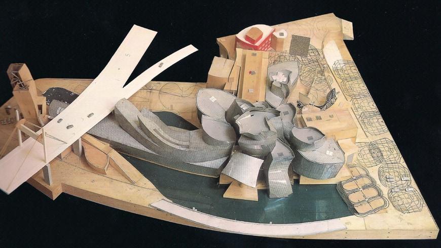 Guggenheim Bilbao Frank Gehry model