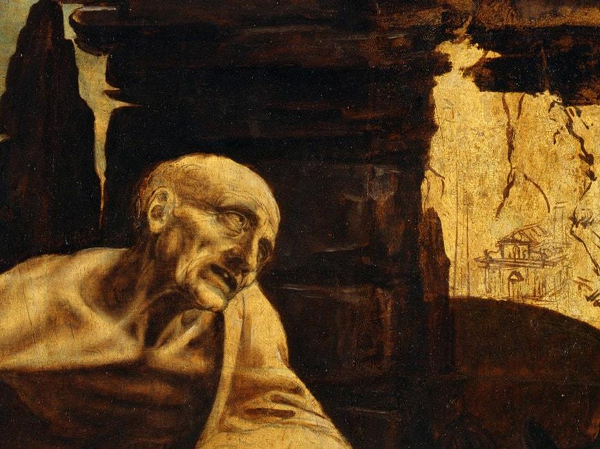 Leonardo da Vinci San Girolamo Saint Jerome Vatican Museums