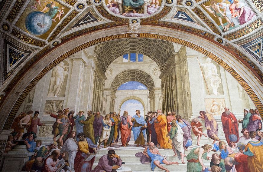 Raphael Vatican Museums Rome Raffaello Musei Vaticani Roma